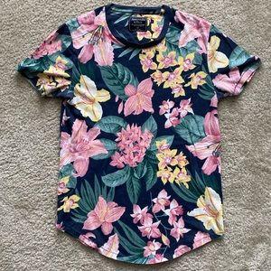 Abercrombie Tropical Print T-Shirt